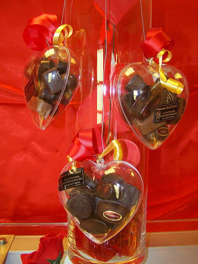 Chocolats Saint Valentin 2015